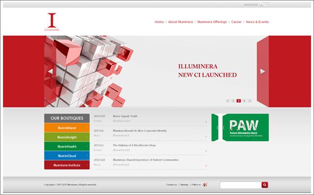 品牌网站建设-意略明品牌