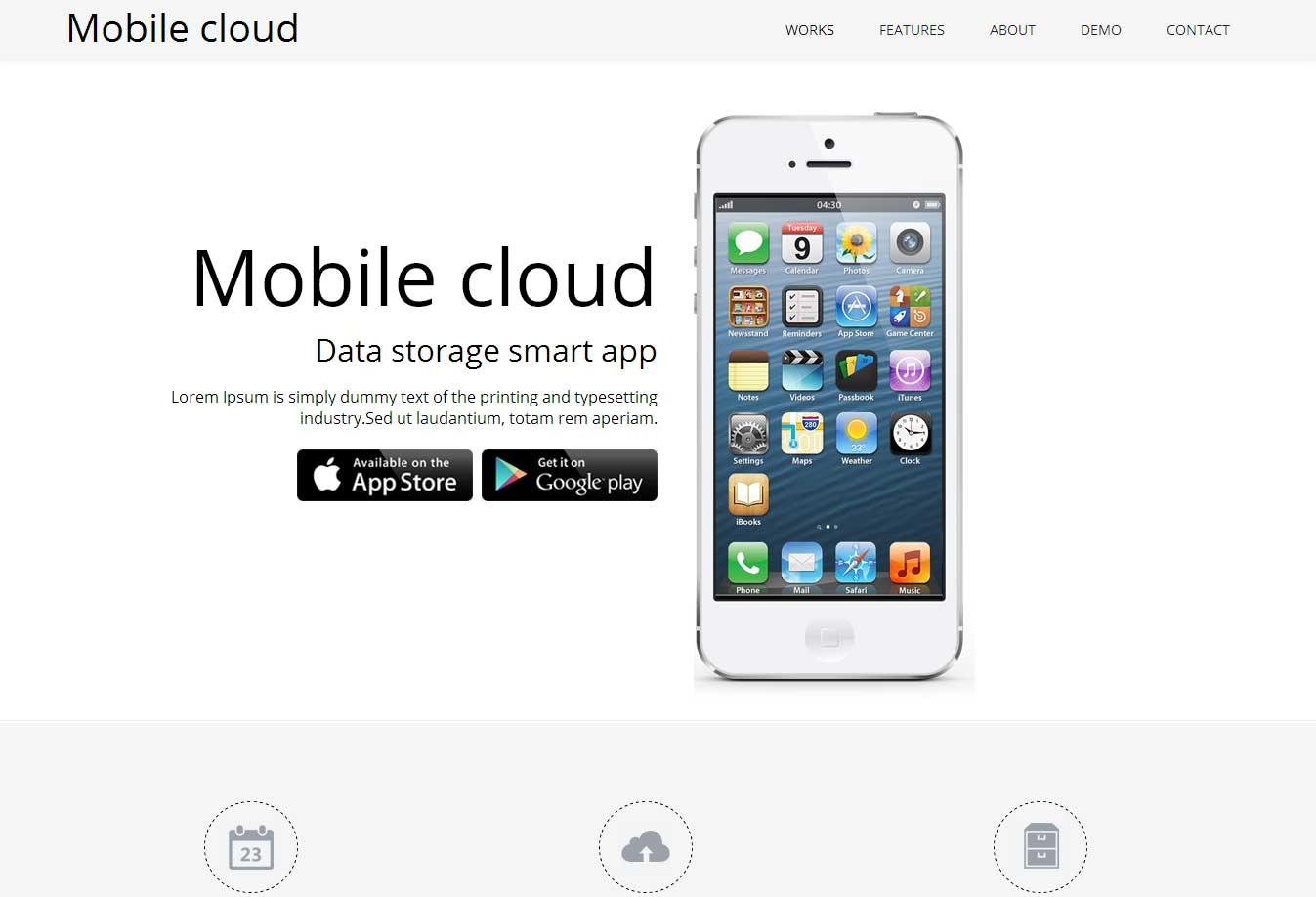 南昌网站设计手机云免费网站模板案例图片