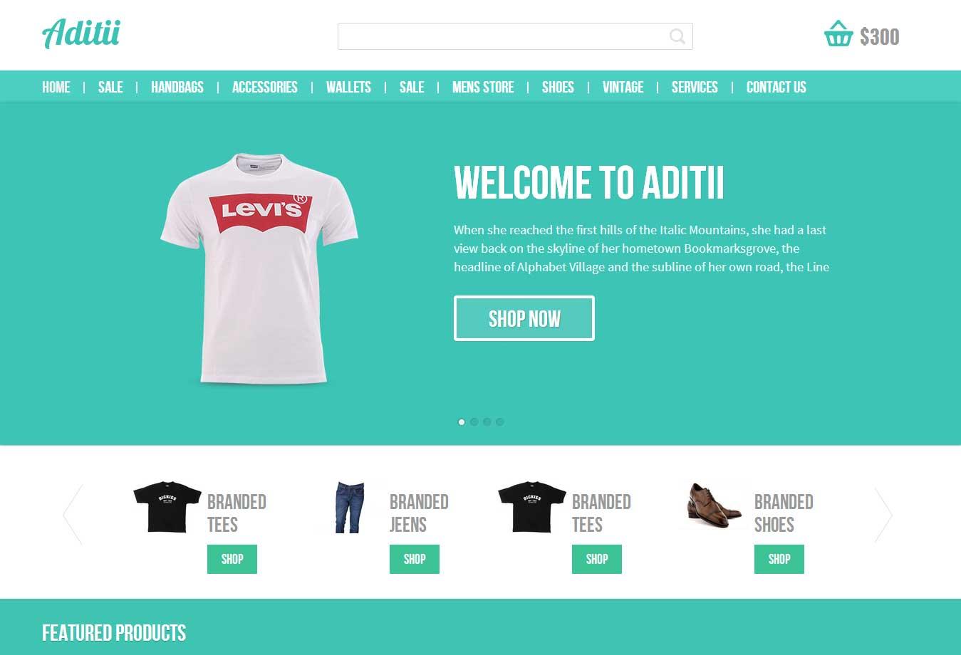南昌网站建设服饰贸易网站模板案例图片