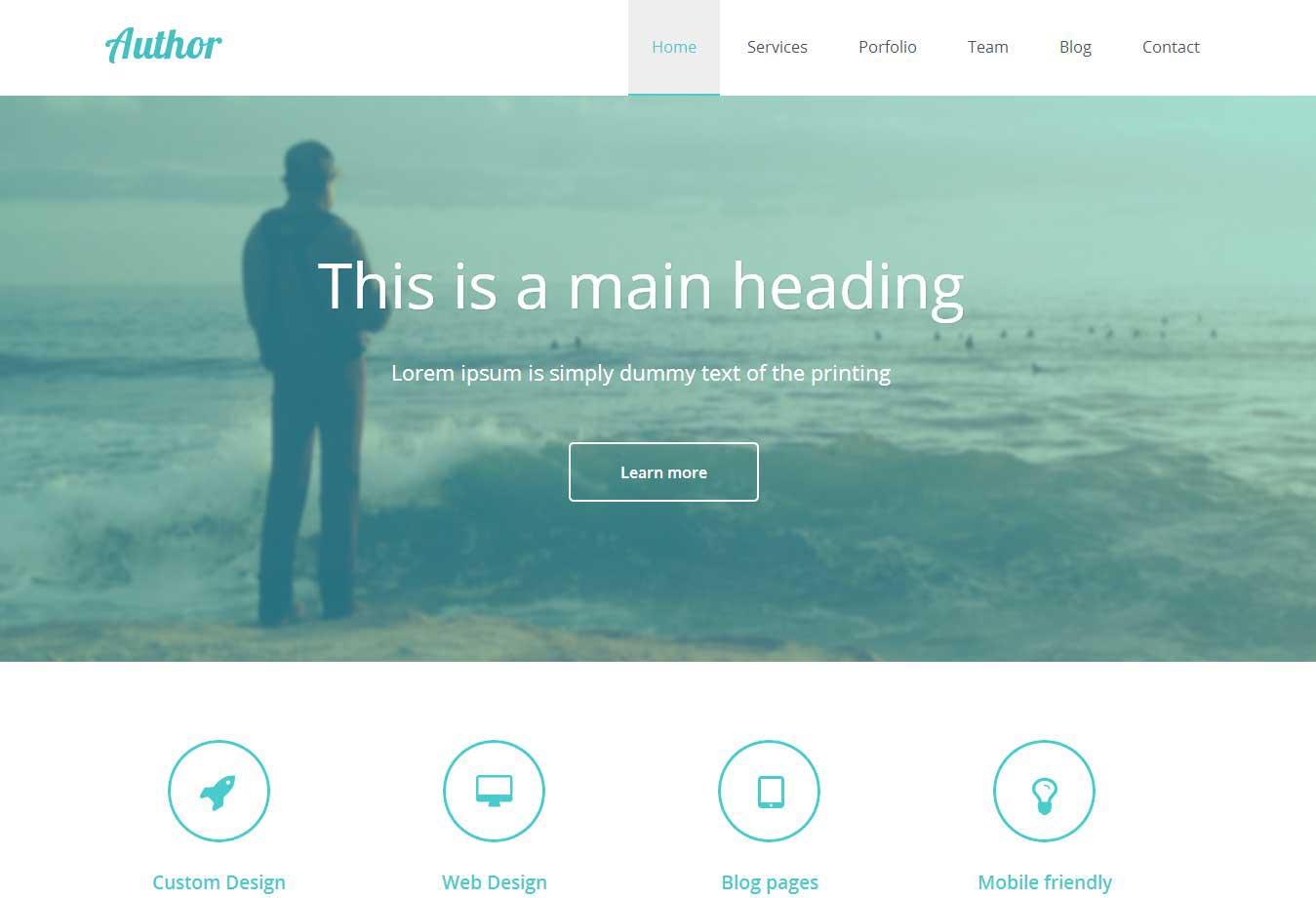 个人页面展示站案例图片
