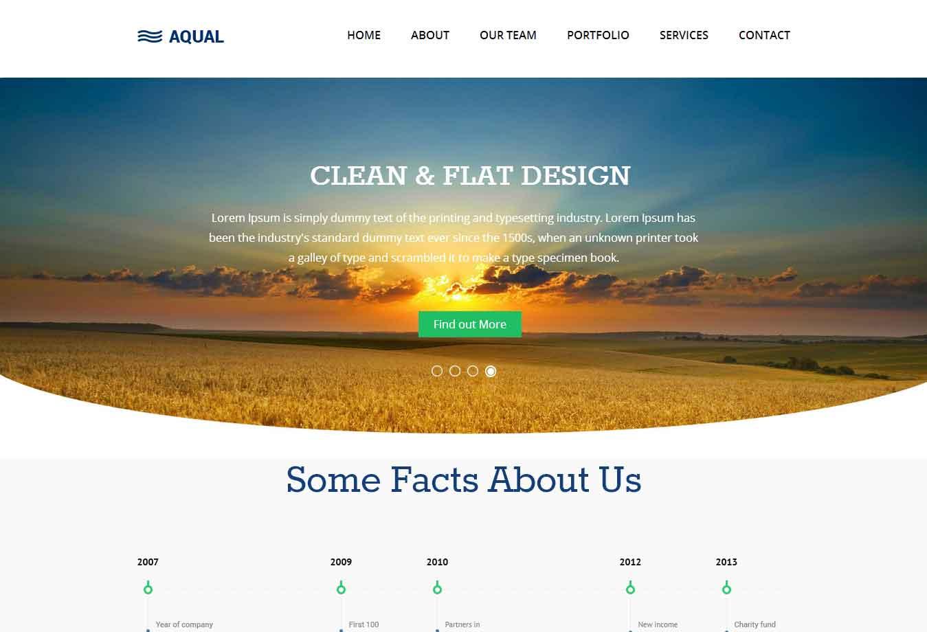 网络技术企业网站模板案例图片